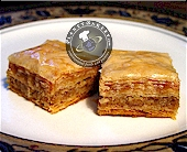 walnut baklava
