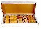 27 piece half tray mixed pastries