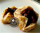 bird's nest baklava