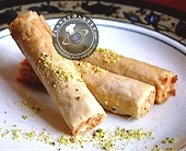 finger roll baklava
